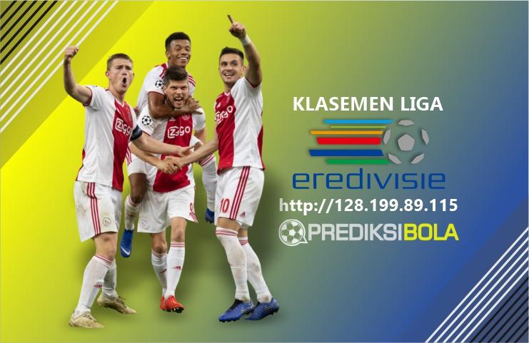 Klasemen Liga Eredivisie Hari Ini Musim 2018-2019