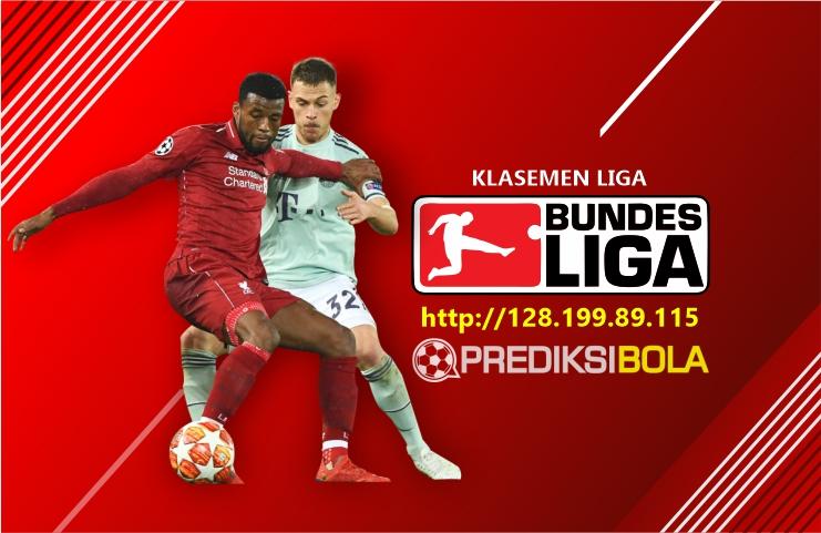 Klasemen Liga Jerman Hari Ini