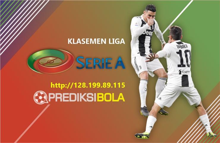Klasemen Liga Italia Hari Ini Musim 2019-2020