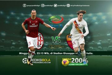 Prediksi AC Milan vs AS Roma 28 Juni 2020