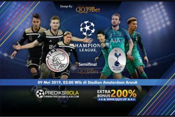 Prediksi Ajax Amsterdam vs Tottenham Hotspur 9 Mei 2019