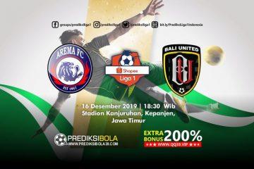 Prediksi Arema FC vs Bali United 16 Desember 2019