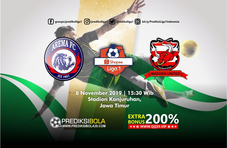 Prediksi Arema FC vs Madura United 8 November 2019