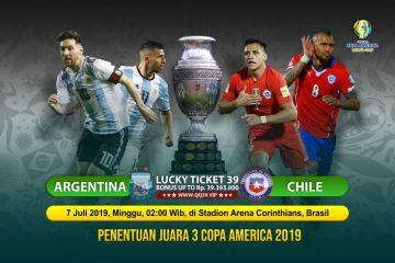 Prediksi Argentina vs Chili 7 Juli 2019