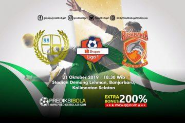 Prediksi Barito Putera vs Borneo FC 31 Oktober 2019