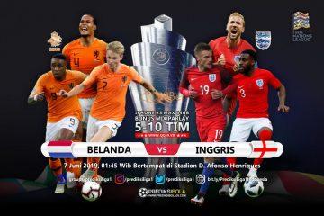 Prediksi Belanda vs Inggris 7 Juni 2019