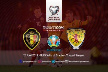 Prediksi Belgia vs Skotlandia 12 Juni 2019
