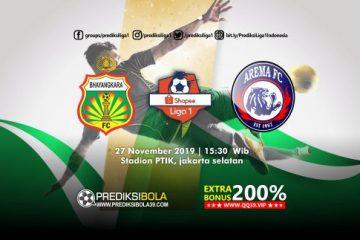 Prediksi Bhayangkara FC vs Arema FC 27 November 2019