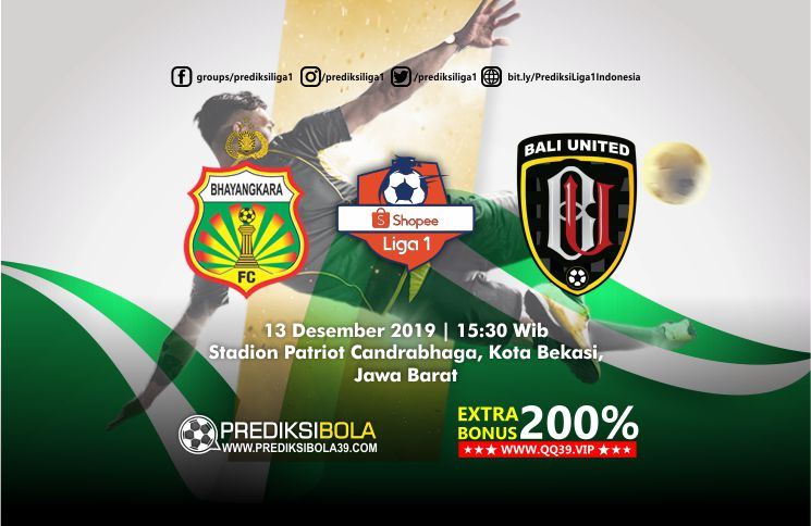 Prediksi Bhayangkara FC vs Bali United 13 September 2019