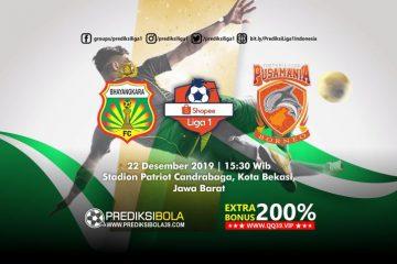 Prediksi Bhayangkara FC vs Borneo FC 22 September 2019