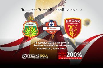 Prediksi Bhayangkara FC vs Perseru Serui 16 Agustus 2019