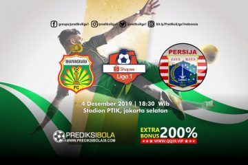 Prediksi Bhayangkara FC vs Persija Jakarta 4 November 2019