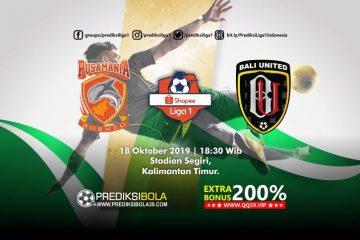 Prediksi Borneo FC vs Bali United 18 Oktober 2019