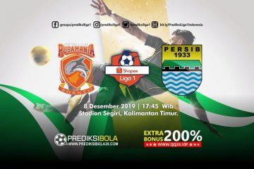 Prediksi Borneo FC vs Persib Bandung 11 Desember 2019