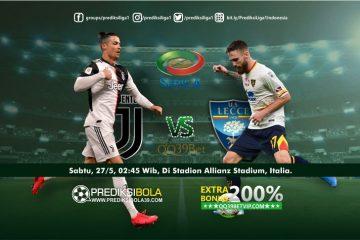 Prediksi Juventus vs Lecce 27 Juni 2020