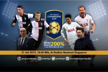 Prediksi Juventus vs Tottenham Hotspur 21 Juli 2019
