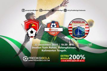 Prediksi Kalteng Putra vs Persija Jakarta 22 Desember 2019