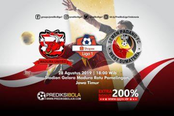 Prediksi Madura United vs Semen Padang 28 Agustus 2019