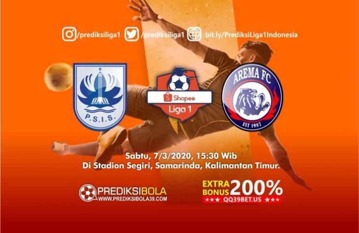 Prediksi PSIS Semarang vs Arema FC 14 Maret 2020