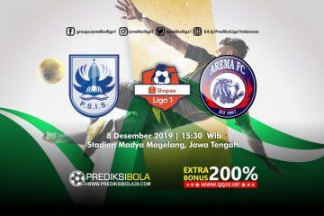 Prediksi PSIS Semarang vs Arema FC 8 Desember 2019
