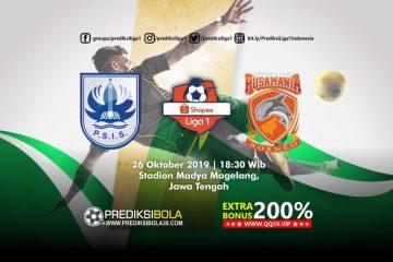 Prediksi PSIS Semarang vs Borneo FC 26 Oktober 2019