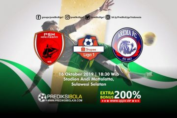 Prediksi PSM Makassar vs Arema FC 16 Oktober 2019