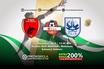 Prediksi PSM Makassar vs PSIS Semarang 11 September 2019
