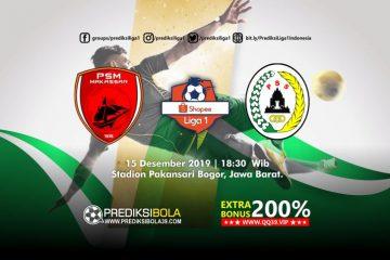 Prediksi PSM Makassar vs PSS Sleman 15 Desember 2019