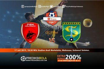 Prediksi PSM Makassar vs Persebaya Surabaya 17 Juli 2019