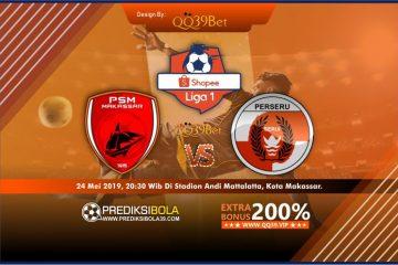 Prediksi PSM Makassar vs Perseru Serui 24 Mei 2019 Cover