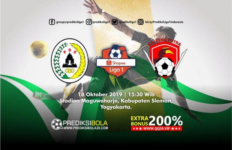 Prediksi PSS Sleman vs Kalteng Putra 18 Oktober 2019