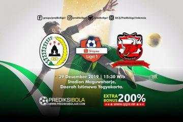Prediksi PSS Sleman vs Madura United 29 September 2019