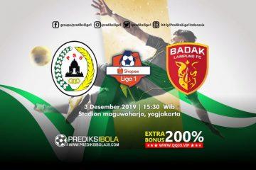 Prediksi PSS Sleman vs Perseru Serui 3 Desember 2019