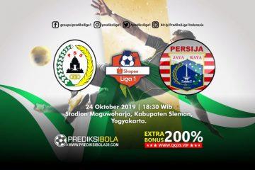 Prediksi PSS Sleman vs Persija Jakarta 24 Oktober 2019
