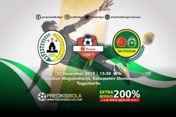 Prediksi PSS Sleman vs TR-Kabo 22 Desember 2019