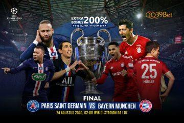 Prediksi Paris Saint Germain Vs Bayern Munchen 24 Agustus 2020 UCL