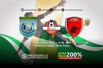 Prediksi Persela Lamongan vs PSM Makassar 7 Desember 2019
