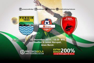 Prediksi Persib Bandung vs PSM Makassar 22 Desember 2019