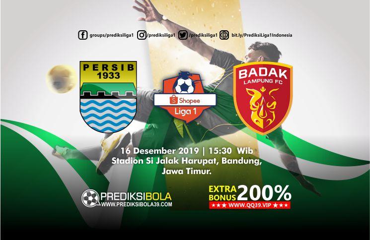 Prediksi Persib Bandung vs Perseru Serui 16 Desember 2019
