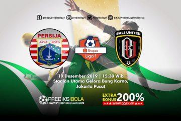 Prediksi Persija Jakarta vs Bali United 19 September 2019