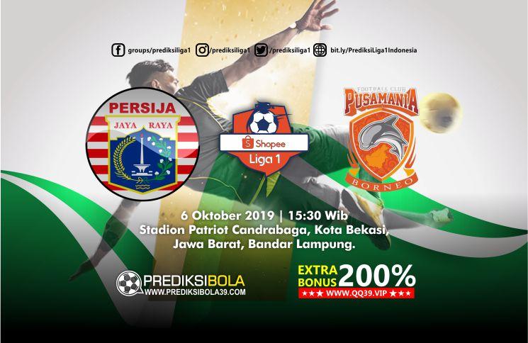 Prediksi Persija Jakarta vs Borneo FC 6 Oktober 2019