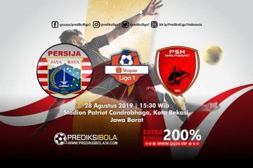 Prediksi Persija Jakarta vs PSM Makassar 28 Agustus 2019
