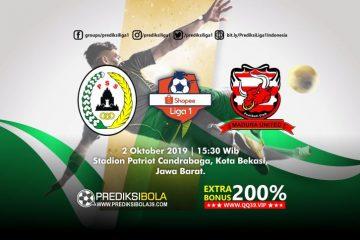 Prediksi Persija Jakarta vs Persela Lamongan 2 Oktober 2019