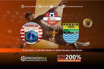 Prediksi Persija Jakarta vs Persib Bandung 10 Juli 2019