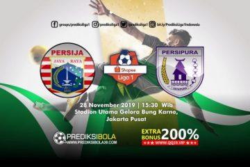 Prediksi Persija Jakarta vs Persipura Jayapura 28 November 2019