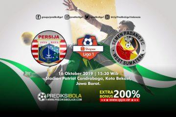 Prediksi Persija Jakarta vs Semen Padang 16 Oktober 2019