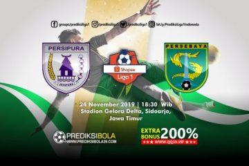 Prediksi Persipura Jayapura vs Persebaya Surabaya 24 November 2019