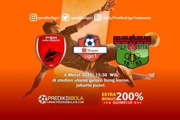 Prediksi Persita Tangerang vs PSM Makassar 6 Maret 2020