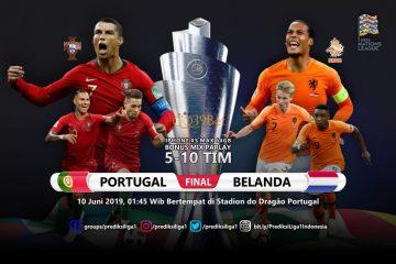Prediksi Portugal vs Belanda 10 Juni 2019