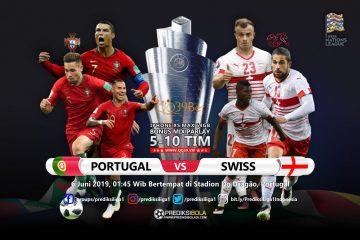 Prediksi Portugal vs Swiss 6 Juni 2019